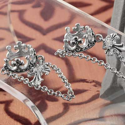 Royal Crown Ear Cuff