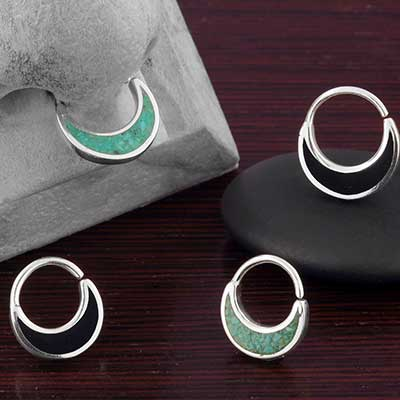 Stone Blade Seamless Ring