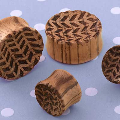Concave Chevron Plugs