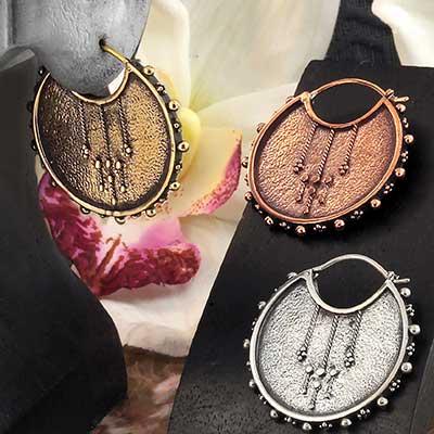 Moirai Earrings
