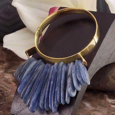 Aurora Blue Kyanite Weights