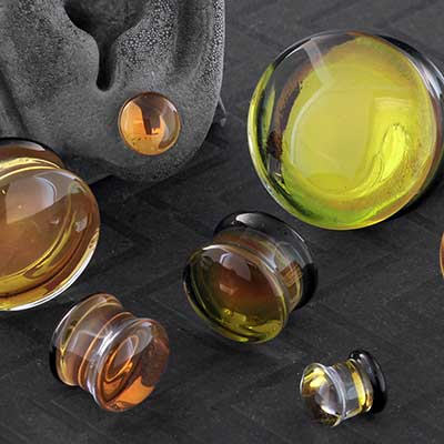 24K Gold Fumed Plugs