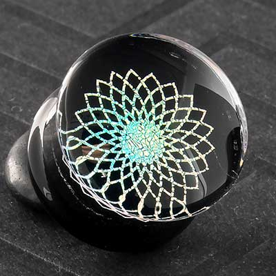 Sacred Flower Image Plugs