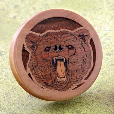 Swiss Pear Bear Plugs