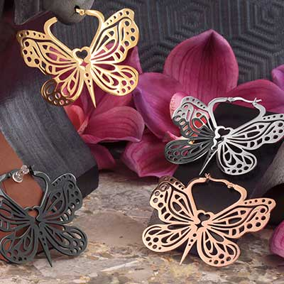 Bohemian Butterfly Earrings