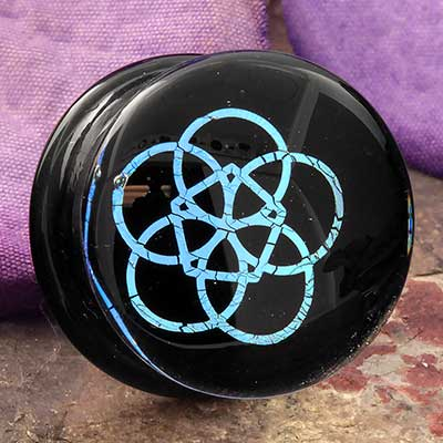 Flower of Life Image Plugs