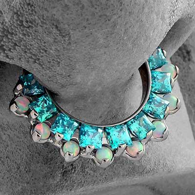 Titanium Odyssey Aphrodite Septum Clicker
