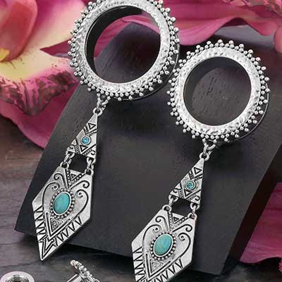 Geometric Dangle Eyelets