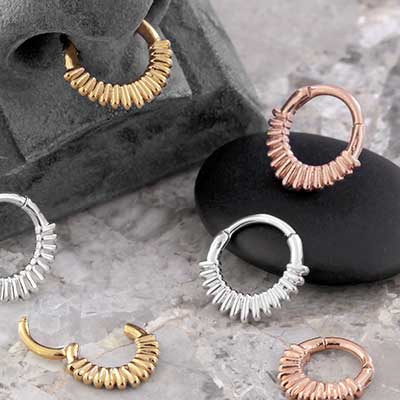 Capsule Septum Clicker Ring