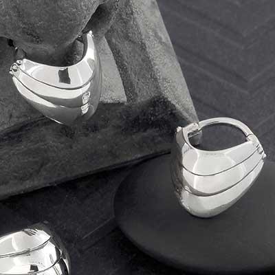 Armored Septum Clicker Ring