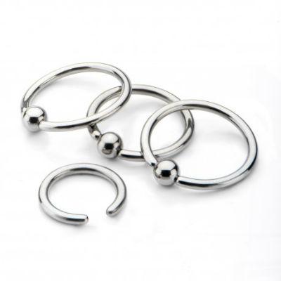 PRE-ORDER Titanium Captive Bead Ring
