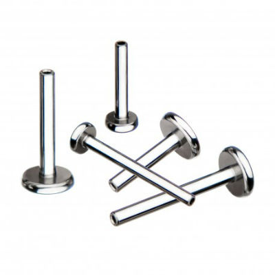 PRE-ORDER Titanium Threadless Labret Post