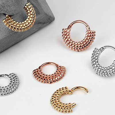 Platform Septum Clicker Ring