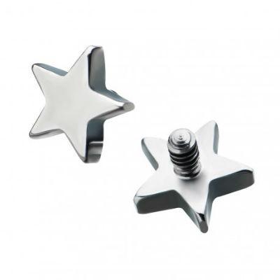 PRE-ORDER Titanium Star Threaded End