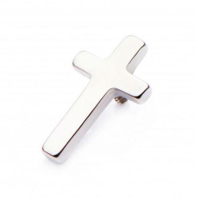 PRE-ORDER Titanium Cross Threaded End