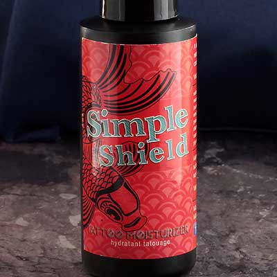 Simpleshield Vegan Tattoo Aftercare Lotion