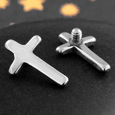 Titanium Cross Threaded End
