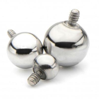 PRE-ORDER Titanium Ball Threaded End