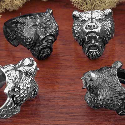 Grizzly Man Ring