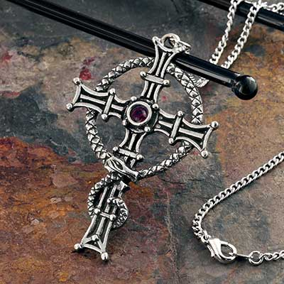 St Columba's Cross Necklace