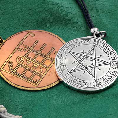 First Pentacle of Moon Amulet Set