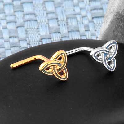 Trinity Knot Straight Nosescrew