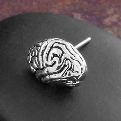 Brain Stud Earrings