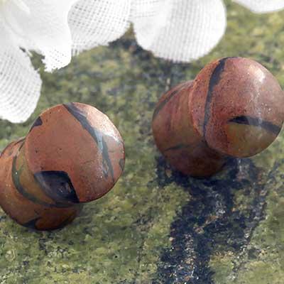 Opal Jasper Plugs