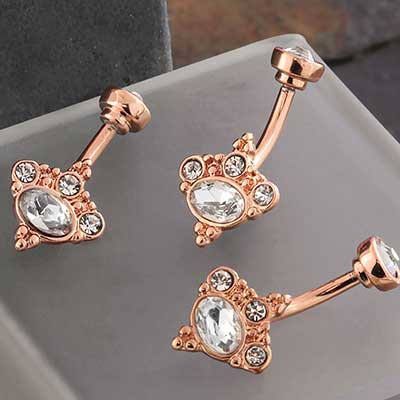 Rose Gold Decadence Navel
