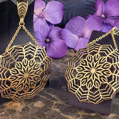 Brass Solar Mandala Weights