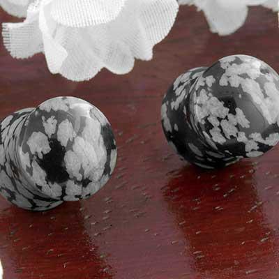 Snowflake Obsidian Plugs