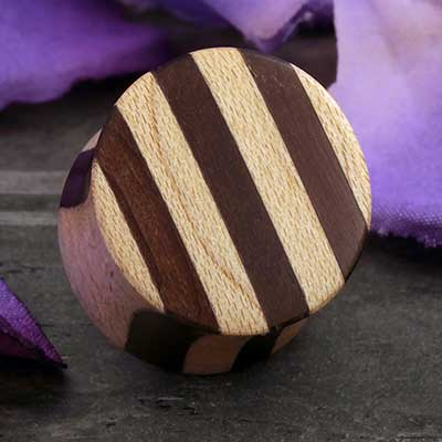 Striped Maple Wood Plugs