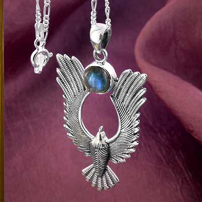 Seraphim in Flight Necklace