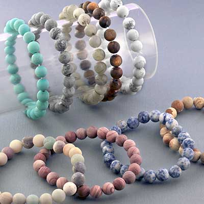 Matte Stone Bracelet