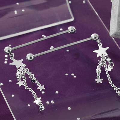 Falling Star Industrial Barbell