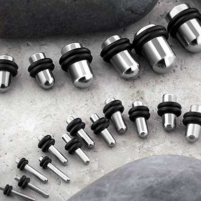 Full Steel Plug Stretching Kit