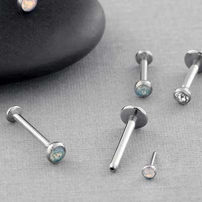 Threadless Nose Jewelry Push Pin Nose Jewelry