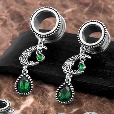 Emerald Moon Steel Eyelets
