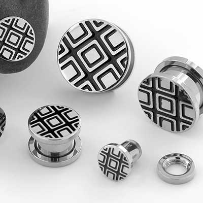 Black Diamond Steel Plugs