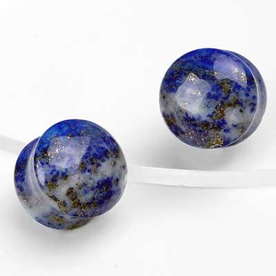 Dual Sided Lapis Lazuli Plugs