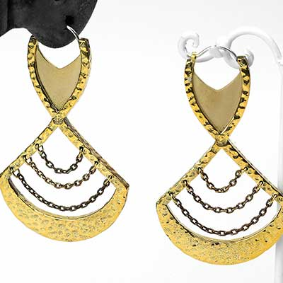 Brass Dulcet Earrings