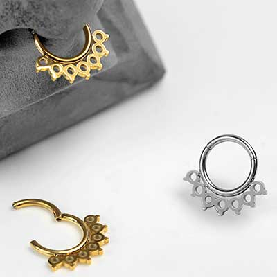 Chantilly Lace Septum Clicker