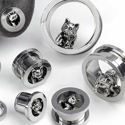 Steel Kitten Eyelets