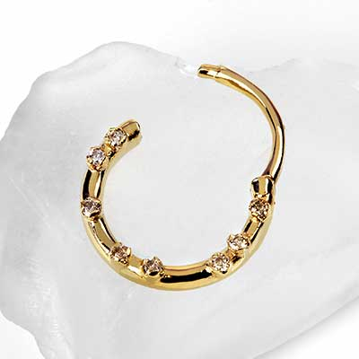 Gold Everythingness Clicker Ring