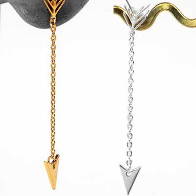 Dangle Arrow Earrings