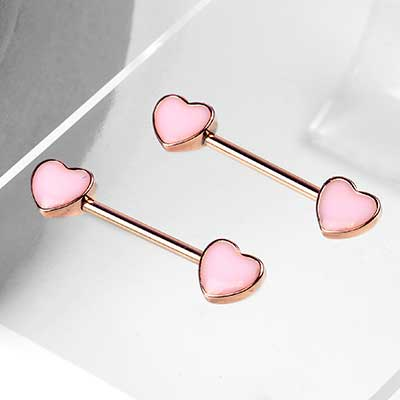 Cute Heart Barbell
