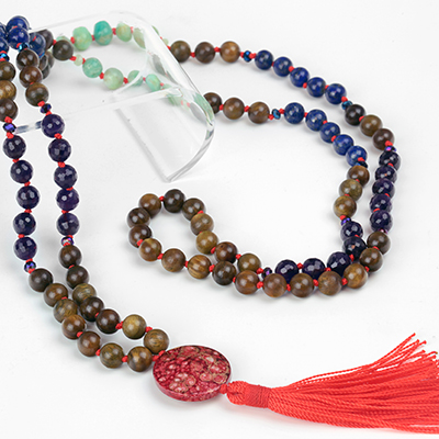 Inner Wisdom Mala Necklace