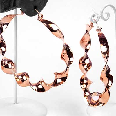 Mobius Hoop Earrings