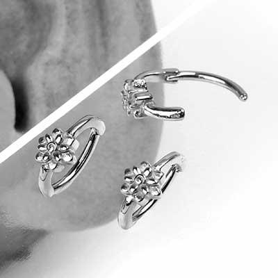 Flower Clicker Ring