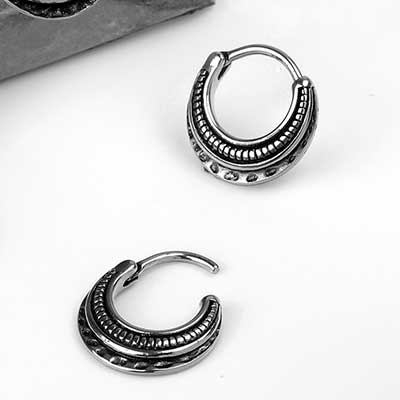 Antiqued Septum Clicker